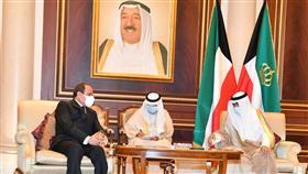 سمو الأمير يستقبل الرئيس المصري عبدالفتاح السيسي