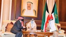 سمو الأمير يستقبل العاهل الأردني الملك عبدالله الثاني