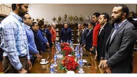 مجلس إدارة النادي الأهلي المصري يقف دقيقة حداد على روح سمو الأمير الراحل