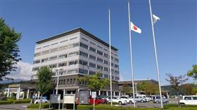 مدينة نيهونماتسو اليابانية تقيم الحداد على روح سمو الأمير الراحل