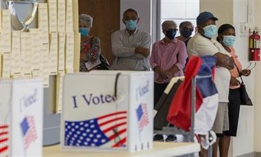 18 مليون أمريكي يدلون بأصواتهم في الإقتراع المبكر