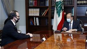 لبنان: نعول على الدور الأمريكي بمفاوضات ترسيم الحدود