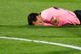 برشلونة يلتحق بريال مدريد ويخسر من خيتافي بهدف نظيف