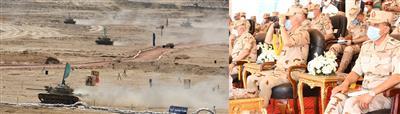 مناورات الجيش المصري.. «ردع-2020» تدخل مرحلة الذخيرة الحية