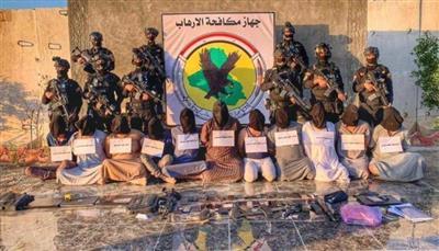 جهاز مكافحة الإرهاب العراقي يفكك شبكة إرهابية بمحافظة صلاح الدين