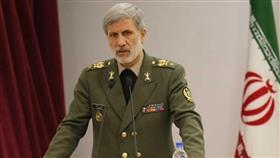 وزير الدفاع الإيراني العميد أمير حاتمي
