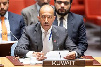 نائب المندوب الدائم الوزير المفوض بدر المنيخ