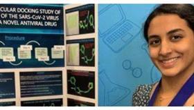 فتاة أمريكية من أصل هندي تحصل على جائزة لاكتشاف علاج محتمل لكورونا
