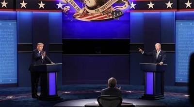 مناظرة أخيرة بين ترمب وبايدن قبل أيام من نهاية السباق