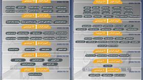 مرشحو انتخابات أمة 2020 بالدائرة الأولى والثانية