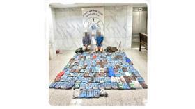 خفر السواحل: ضبط متسللين من جنسية آسيوية حاولوا ادخال كمية من المواد المخدرة إلى البلاد