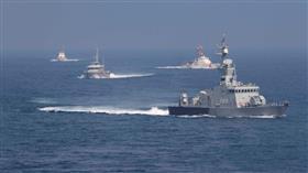 خفر السواحل والقوة البحرية الكويتية تشاركان في تمرين مشترك مع القيادة المركزية للقوات البحرية الأمريكية