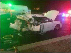 3 وفيات و3 إصابات في حادث تصادم مروع على الدائري الرابع
