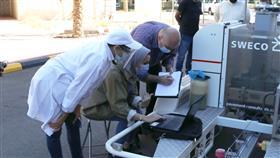 «الأبحاث» ينفذ المرحلة الثالثة من مشروع الطريق التجريبي للأسفلت المطاطي
