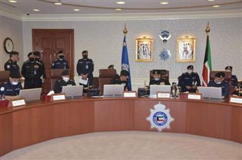 وزارة الداخلية تبحث الخطة الأمنية لانتخابات مجلس الأمة