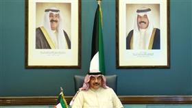 سمو الشيخ صباح خالد الحمد الصباح رئيس مجلس الوزراء يترأس جاسة المجلس عبر الاتصال المرئي