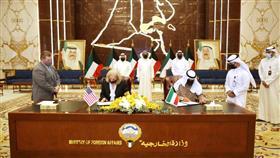الكويت والولايات المتحدة توقعان إعلان نوايا حول التعاون القانوني