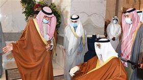 سمو الأمير يستقبل سمو رئيس الحرس الوطني