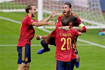 أسبانيا تضرب ألمانيا بسداسية نظيفة في دوري الأمم الأوروبية