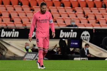 راموس يغيب عن ريال مدريد 3 مباريات للإصابة