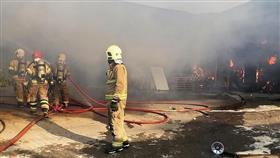 اندلاع حريق في مصفاة لتكرير النفط جنوبي إيران