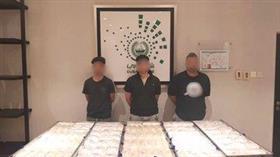 3 من أفراد العصابة متلبسين بالجرم المشهود