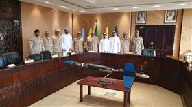 رئيس الأركان يستقبل فريق مشروع صاروخ الفضاء الكويتي «كي اس آر»