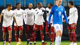 آرسنال يفوز على مولده بثلاثية نظيفة في الدوري الأوروبي