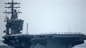 نشر حاملة طائرات أمريكية في الخليج