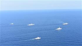 مناورات بحرية تجمع دولاً عربية وأوروبية في شرق المتوسط