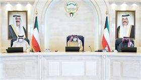 سمو الشيخ صباح خالد الحمد الصباح رئيس مجلس الوزراء يترأس جلسة المجلس