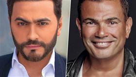 عمرو دياب وتامر حسني أكثر الفنانين العرب إحياء للحفلات بالسعودية