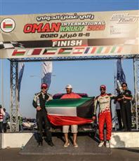 الكويتي الظفيري يحقق المركز الثاني ببطولة الشرق الأوسط للراليات بمسقط