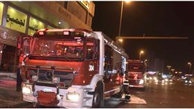 «الإطفاء»: السيطرة على حريق سرداب مجمع تجاري بالجليب