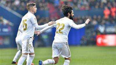 «ريال مدريد» يضرب «أوساسونا» برباعية