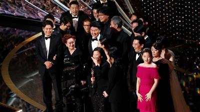 الفيلم الكوري الجنوبي «باراسايت» يصنع التاريخ ويحصد جوائز الأوسكار