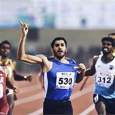 العداء الظفيري يتوج بالمركز الأول لسباق 800 متر عدواً بإسبانيا
