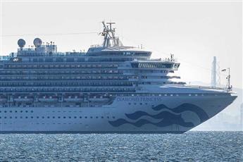 اليابان: 39 إصابة جديدة بفيروس كورونا في سفينة يوكوهاما السياحية