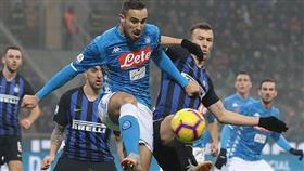 مواجهة نارية بين إنتر ونابولي في نصف نهائي كأس إيطاليا