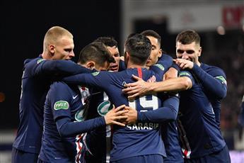 باريس سان جيرمان وليون يصعدان لقبل نهائي كأس فرنسا