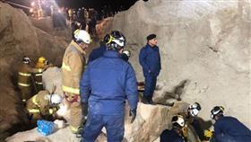 6 وفيات و3 إصابات الحصيلة النهائية لحادث انهيار الجدار الرملي في مدينة المطلاع