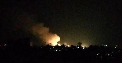 7 قتلى من النظام السوري والحرس الثوري بقصف إسرائيلي