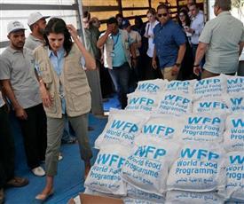 «الأغذية العالمي»: أعدنا توزيع مساعداتنا شمال غربي سوريا رغم المعارك