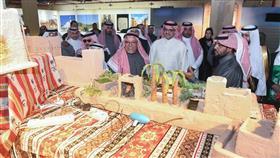 افتتاح الأجنحة التراثية الخليجية والقرية التركية ضمن مهرجان الموروث الشعبي