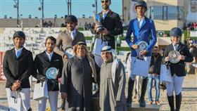 تألق فرسان الكويت ببطولة سمو الأمير للفروسية
