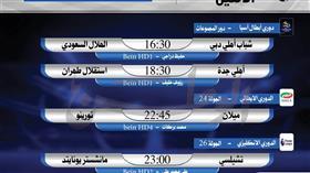 أبرز المباريات العربية والعالمية ليوم الإثنين 17 فبراير 2020