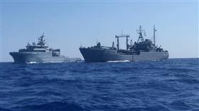 البحريتان المصرية والفرنسية تجريان تدريبات عسكرية في «المتوسط»