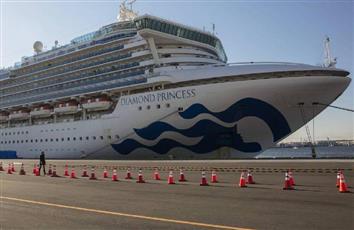 إجلاء 300 راكب أمريكي من سفينة «ديموند برينسس»