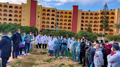 انتهاء الحجر الصحي للمصريين العائدين من الصين