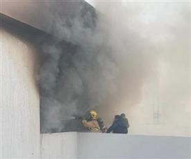«الإطفاء»: السيطرة على حريق شاليه بمدينة صباح الأحمد البحرية